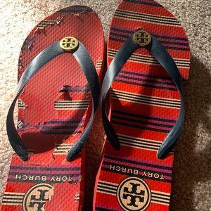 Shoes - Tory Burch flip-flops size 8